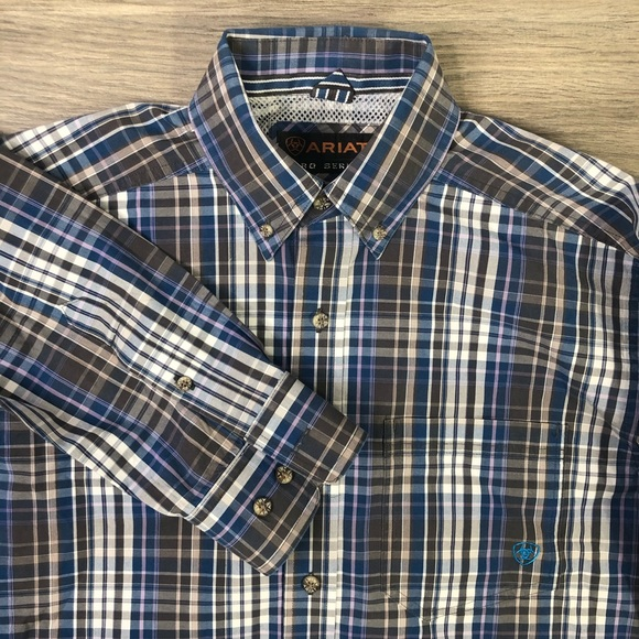 Ariat Other - Ariat pro series plaid button up shirt long sleeve